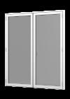 Rationel FORMA BASIC Terrassedør med vinduesprofil - 2-fløjet