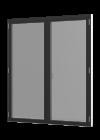 Rationel AURAPLUS BASIC Terrassedør med vinduesprofil - 2-fløjet