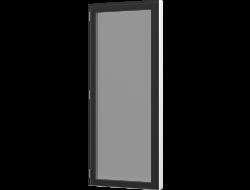 Terrassedør med vinduesprofil - Enkelt